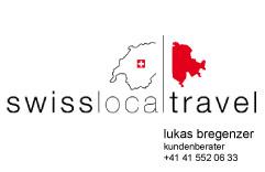 swisslocaltravel GmbH, Lukas Bregenzer Kundenberater